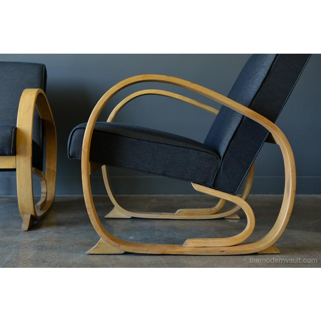 Astonishing 1940S Art Deco Bentwood Chairs A Pair Gmtry Best Dining Table And Chair Ideas Images Gmtryco