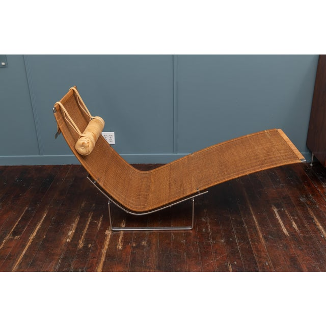 Poul Kjaerholm PK24 Chaise Lounge For Sale In San Francisco - Image 6 of 13
