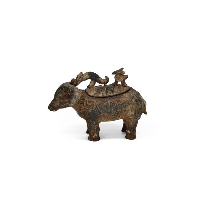 Chinese Ram Vessel Archaistic Bronze - Image 6 of 6