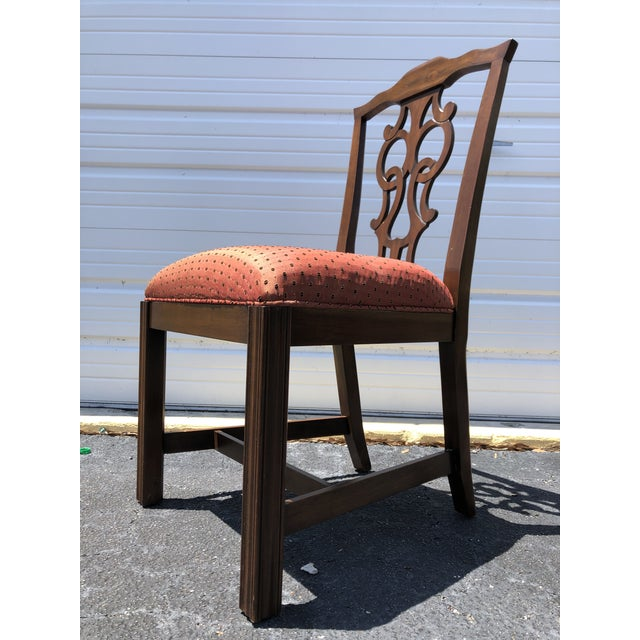 Chippendale Style Dining Chairs - Set of 10 For Sale In West Palm - Image 6 of 13