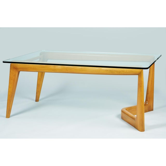 1950s Mid-Century Modern Pierluigi Giordani Biomorphic Dining Table For Sale In New York - Image 6 of 13