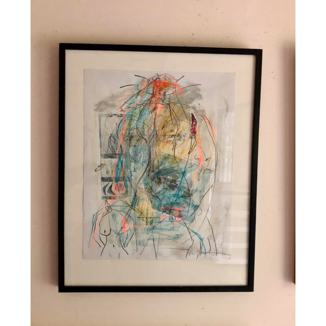 """Abstract Female Nude """"Women's Strength"""" by Ellen Reinkraut For Sale In New York - Image 6 of 6"""
