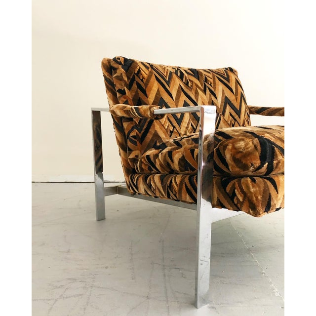 Mid Century Modern Milo Baughman Lounge Chair For Sale In New York - Image 6 of 7