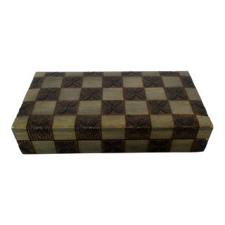 Small Wood Storage Box For Sale