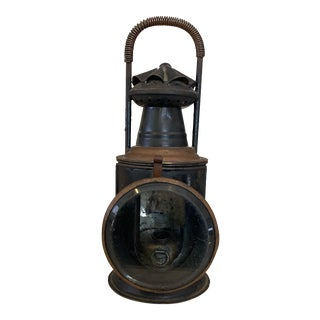 Vintage Railroad Signal Lantern For Sale