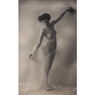 Vintage Pictorialist Nude Photograph For Sale