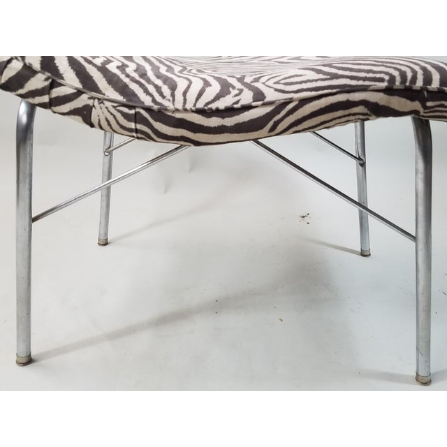 Vintage Scupltural Chaise Lounge - Image 6 of 6