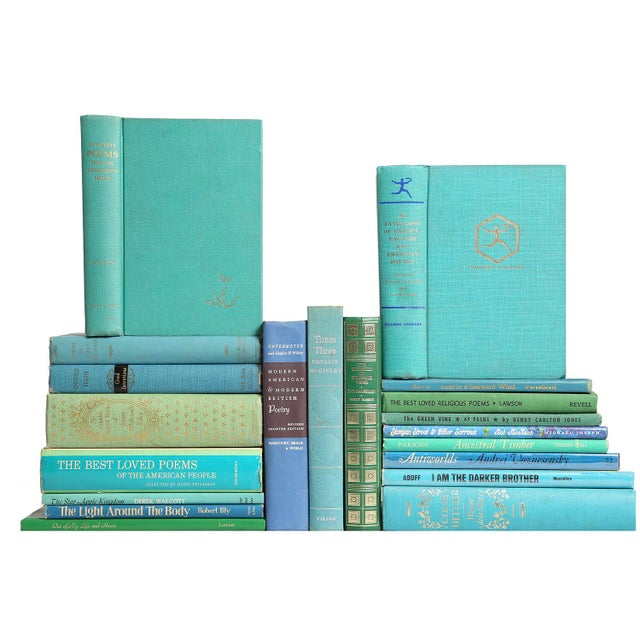 "Mid Century ""Ocean"" Poetry Books - Set of 20 - Image 2 of 3"