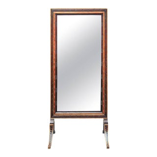 Regency Style Cheval Mirror