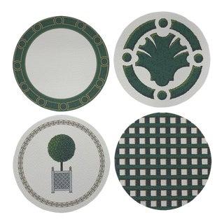 TC Jardin Coasters, Set of 4 For Sale