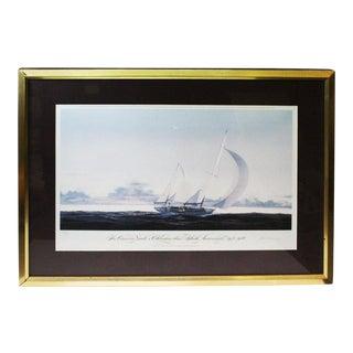 John Mecray Concordia Yawls Print For Sale