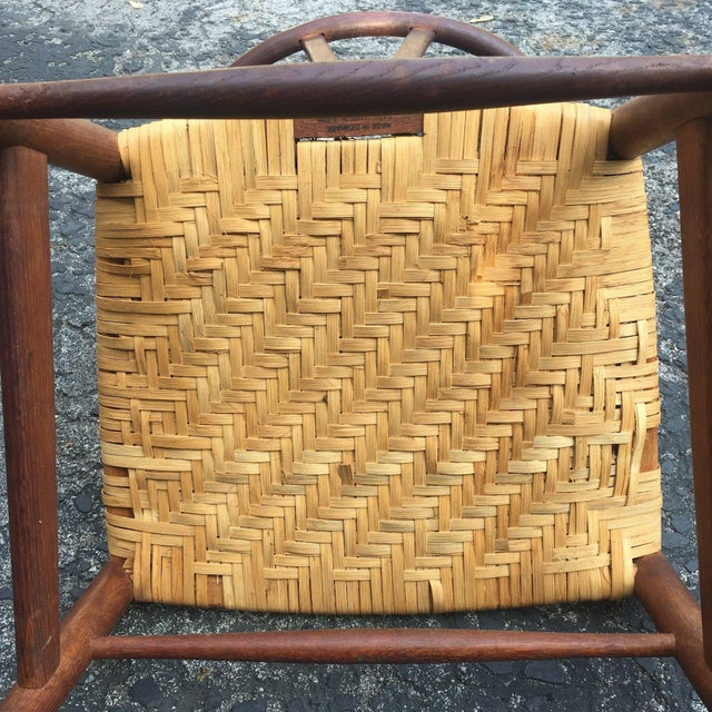 1960s Vintage Hans Wegner Wishbone Chair for Carl Hansen & Son For Sale - Image 5 of 8