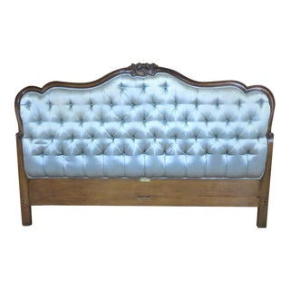 French Style Tufted Queen Headboard