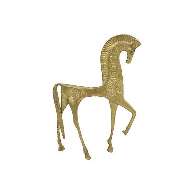Mid Mod Etruscan Horse Figure - Image 3 of 4