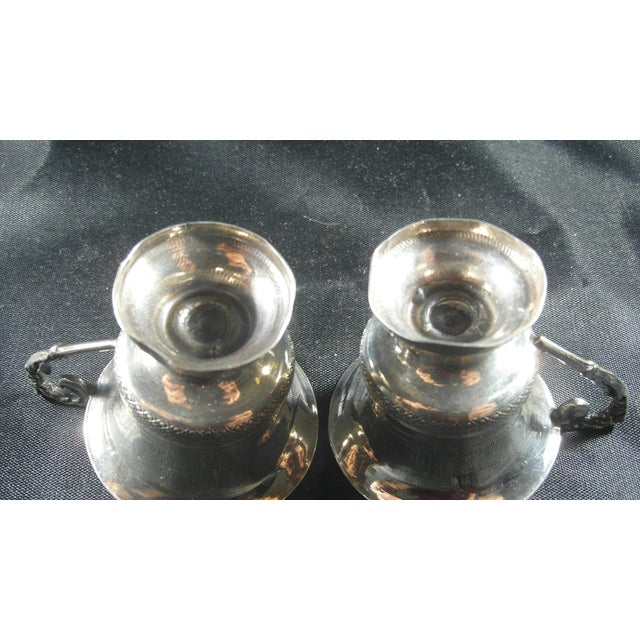 Metal 1832 to 1872 Italian Silver Liquor Cups - a Pair For Sale - Image 7 of 11