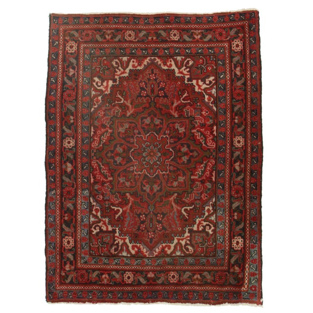 RugsinDallas Hand Knotted Wool Turkish - 3′11″ × 5′7″ - Image 1 of 2
