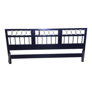 Hollywood Regency Style King Headboard For Sale