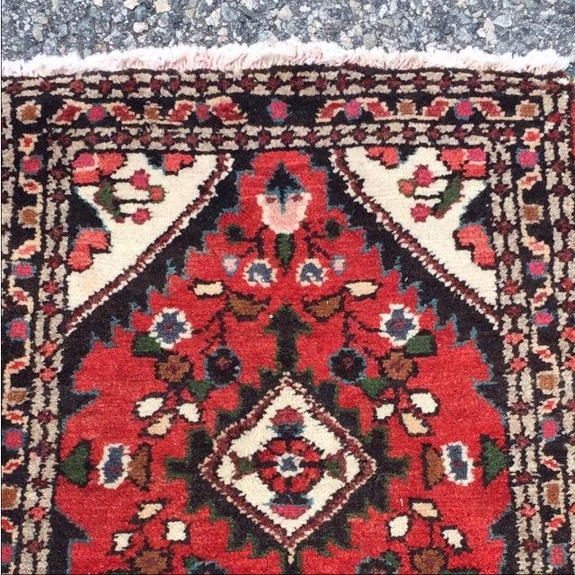 Vintage Hamadan Persian Rug - 1′8″ × 2′1″ - Image 3 of 9