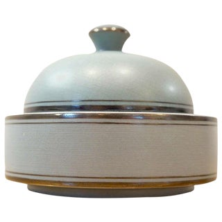 Round Lidded Box For Sale