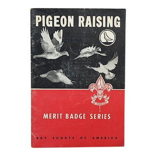 Vintage Pigeon Raising Boy Scout Merit Badge Book by Wendell M. Levi