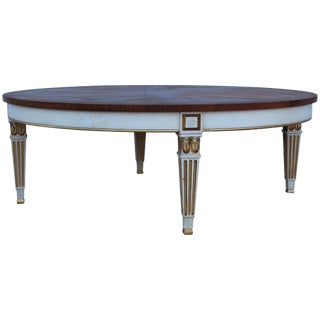 1950s Giltwood Coffee Table by Baker For Sale