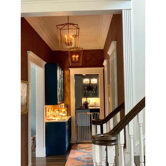 Transitional style lanterns. Great for multiple aesthetics and styles... Would be suitable for an entry Hall, Staircase or...