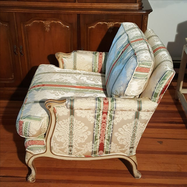 19th Century French Prov. Club Chairs - a Pair - Image 6 of 11