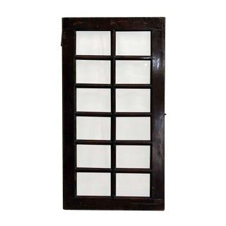 20th Century Traditional 12 Beveled Glass Panel Window