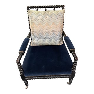 Ralph Lauren Home Bohemian Spindle Chair For Sale