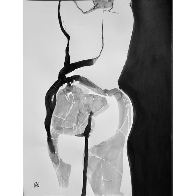 Back Talk Original Drawing by Adria Becker For Sale - Image 4 of 4