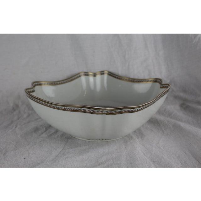 Vista Alegre 1950s Vintage Vista Allegre Centerpiece Bowl For Sale - Image 4 of 8