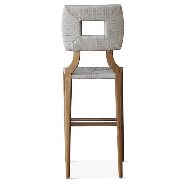 2010s Outdoor How to Marry a Millionaire Counter or Barstool in Charcoal or Sand For Sale - Image 5 of 7