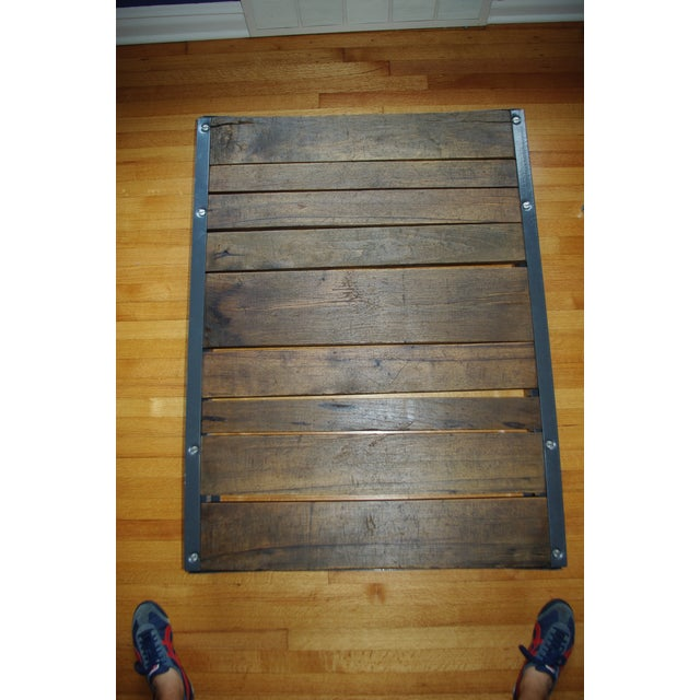 Vintage Industrial Pallet Coffee Table - Image 5 of 5