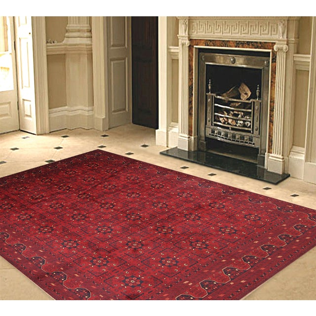 "Pasargad Yamoud Collection Rug - 6'10"" X 9'9"" - Image 2 of 2"
