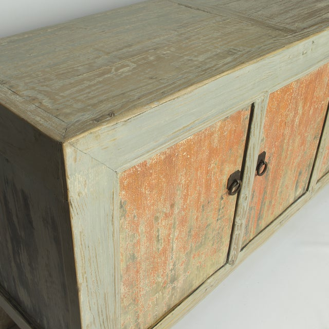 Distressed Chinese Sideboard - Image 3 of 3