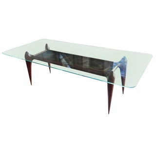 Rare 1960s Scapinelli Brazilian Dining Table For Sale