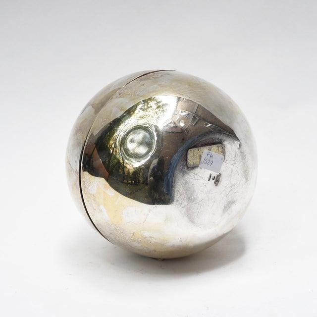 Italian Gio Ponti Spherical Flower Holder For Sale - Image 3 of 5