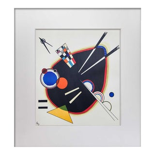 Wassily Kandinsky Lithograph Limited Edition 1969 + Custom Archival Framing For Sale