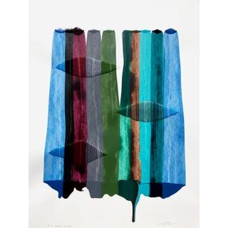"""""""Fils I Colors Cccxiv"""" Original Artwork by Raul De La Torre For Sale"""