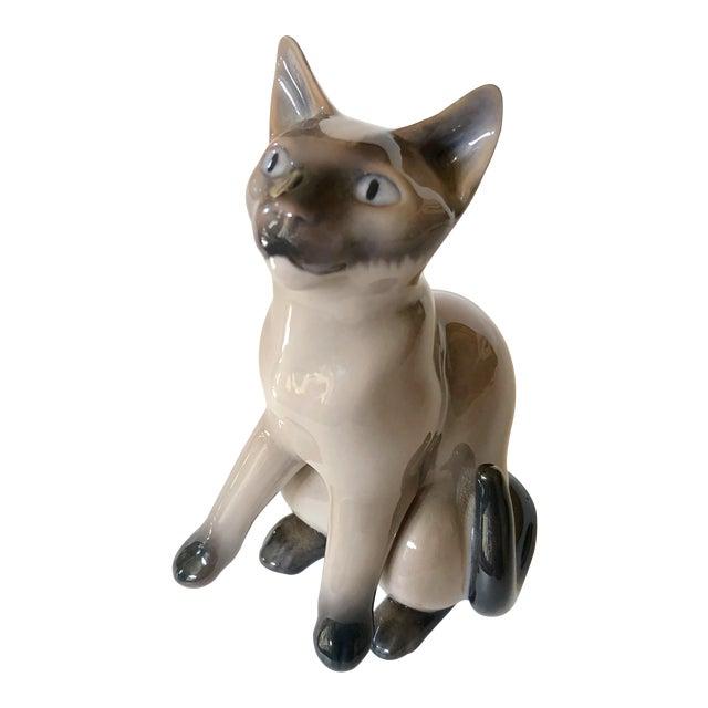 Bing & Grondahl Siamese Cat Figure For Sale
