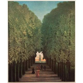 1951 Henri Rousseau, Original Parisian L' Allée Photogravure For Sale