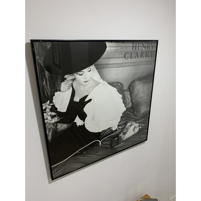 1986 Henry Clarke, Fath, 1956 Editions Du Désastre - Photographic Print. Black and white. Printed in France by Union...
