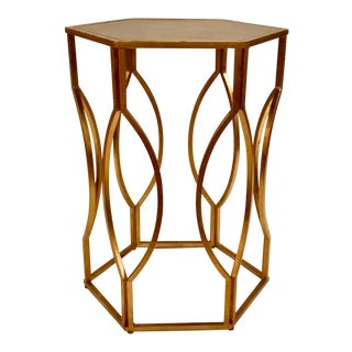 Worlds Away Morrocan Side Table For Sale