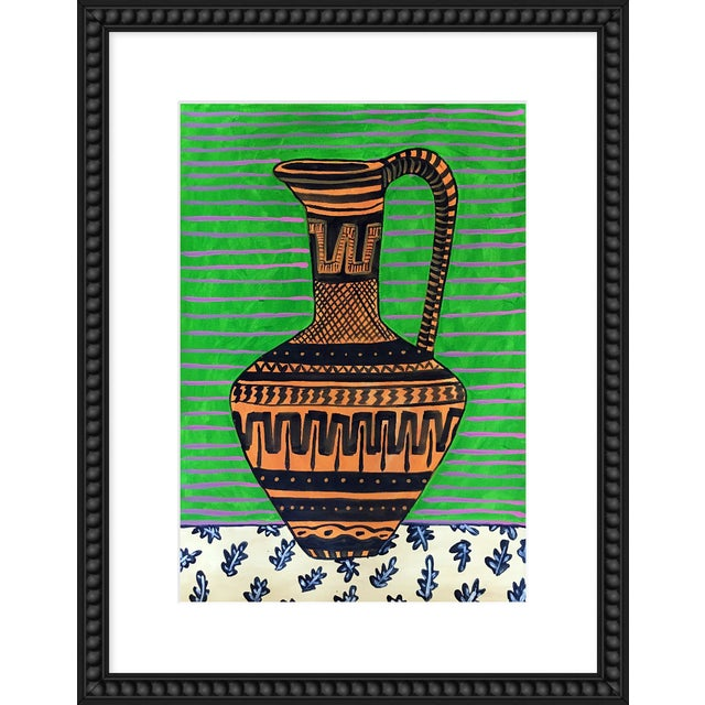 "Medium ""Green Pitcher"" Print by Jelly Chen, 20"" X 26"" For Sale"