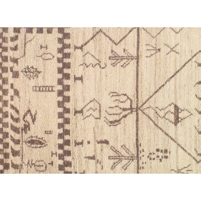 Pasargad N Y Moroccan Hand-Knotted Rug - 4' X 6′ For Sale - Image 4 of 5