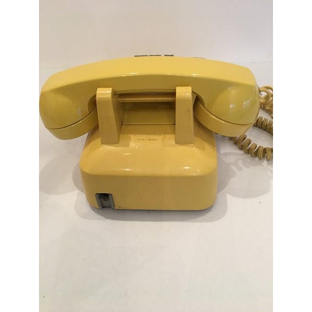 Vintage Bell Western Yellow Desktop Telphone - Image 9 of 9