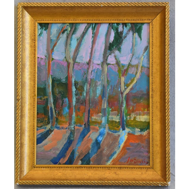 Juan Pepe Guzman Santa Barbara Abstract Landscape Oil Painting For Sale - Image 9 of 9