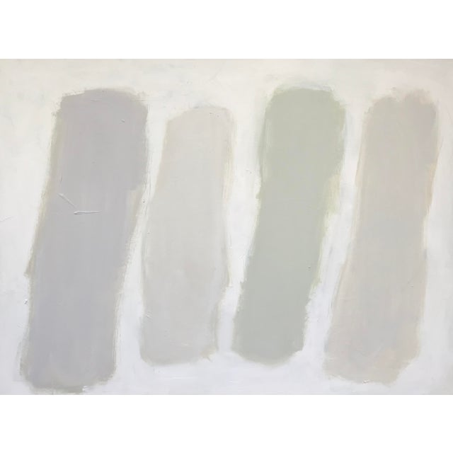 """Sarah Trundle Contemporary Abstract Painting """"Color Study: Neutrals"""" For Sale - Image 10 of 10"""