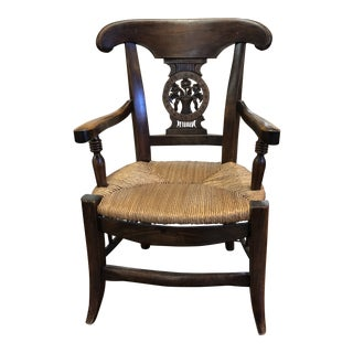 19th Century French Child's Chair For Sale