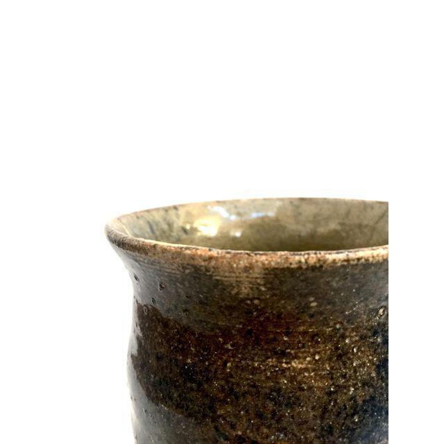 Handmade Mottled Clay Vase - Image 3 of 6